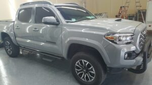 Toyota Tacoma with paint protection film